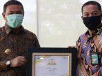 BPR Jam Gadang meraih penghargaan sebagai TOP BUMD 2020