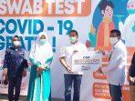 Wako Bukittinggi Ramlan Nurmatias Apresiasi BNI Gelar Swab Test Gratis