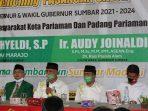 Jelang Pilkada Sumbar 2020, Mahyeldi-Audy Deklarasi di Padang Pariaman