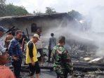 Korban Kebakaran Parambahan Terima Bantuan Pemkab Tanah Datar
