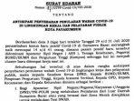 Kasus Positif Covid-19 Sumbar Naik, Wako Riza Falepi Keluarkan SE