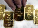 Harga Emas Turun Senin 31 Agustus 2020