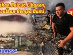 Ledakan Besar Beirut Menimbulkan Gempa, Hingga Terasa ke Cyprus