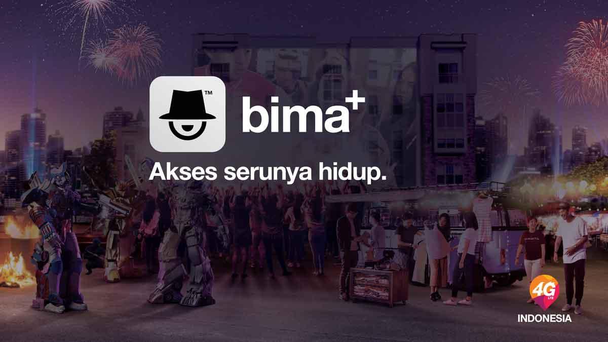 Aplikasi Bima+ Manjakan Pelanggan Tri Indonesia