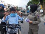 Satpol PP Payakumbuh Sosialisasi Pemakaian Masker