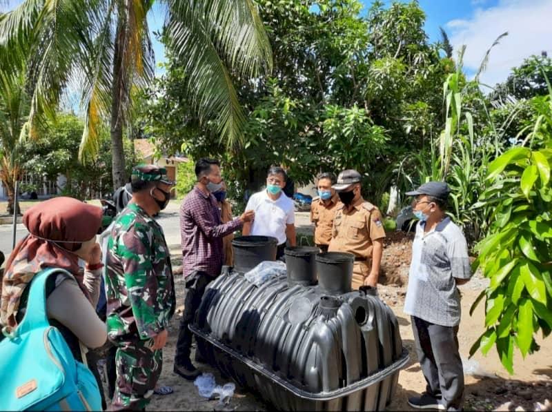 113 Rumah dii Purus Terima Bantuan Septic Tank