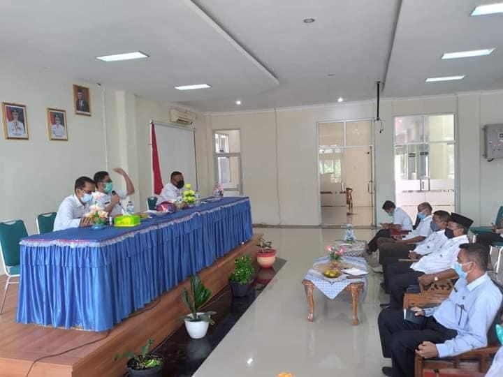 Plt Wako Hendri Septa Kunjungi dan Motivasi Lurah Se-Kecamatan Bungtekab