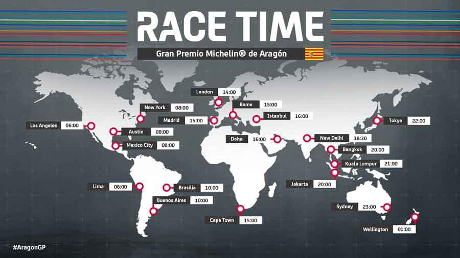 Seri Balapan MotoGP Aragon Spanyol Berubah Jadwal
