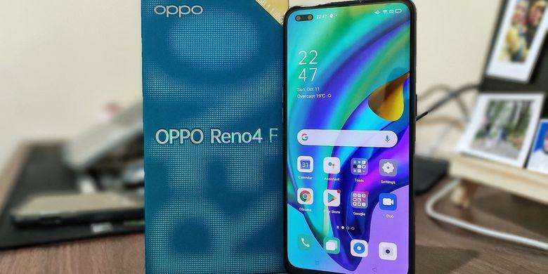 Ponsel OPPO Reno4 F Hadir Untuk Kawula Muda