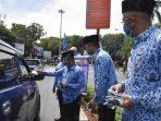 Korpri Kota Padang Bagikan Masker dan Donor Darah