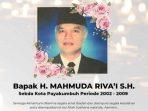 Mahmuda Rivai, Mantan Sekda Payakumbuh Wafat