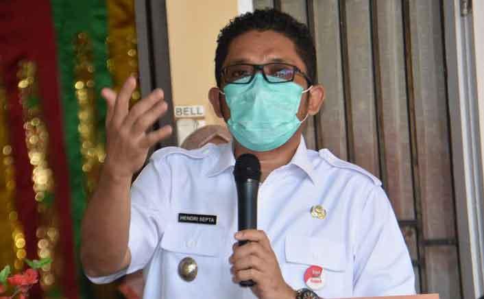 Persentase Kesembuhan Pasien Covid-19 di Padang