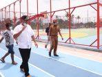 Mantap! Rumput Lapangan Futsalnya Berstandar FIFA Di Payakumbuh