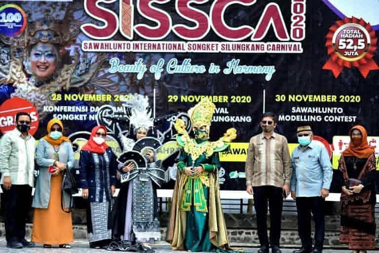 Sawahlunto International Songket Silungkang Carnival 2020