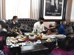 Wakil Walikota Erwin Yunaz Terima Kunjungan Bupati Bengkalis