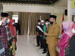 Walikota Pariaman Mardison Mahyuddin melantik dan mengukuhkan Forum Adat Seni Budaya Anak Nagari