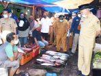 Tinjau Pasar Satelit di Kota Padang