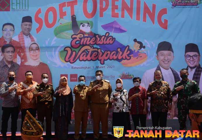 Emersia Water Park, Objek Wisata Wahana Air Pertama di Batu Sangkar