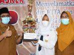 Intan Maharany Juarai News Reporter Competition 2021