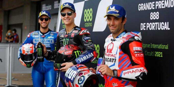 Hasil Kualifikasi MotoGP Portugal 2021 Portimao Sirkuit, Marc Marquez Mantap di depan