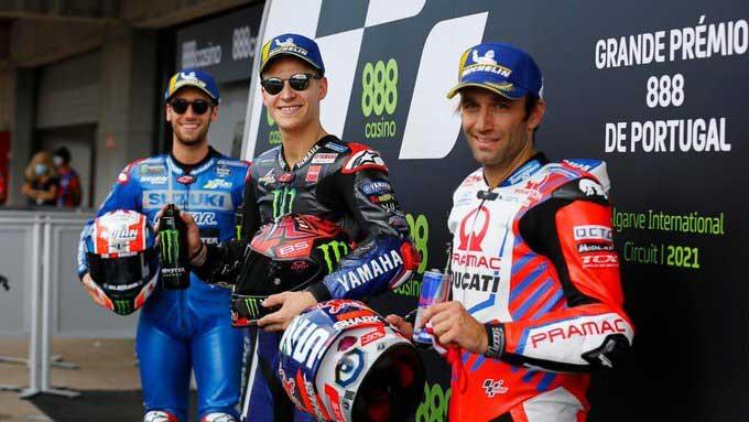 Marc Marquez Mantap, Quartararo Pole Position, dan Duo Ducati Masih Kuasai Hasil Kualifikasi MotoGP Portugal 2021