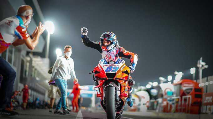 Duo Pembalap Pramac Racing Kuasai Kualifikasi MotoGP Doha 2021