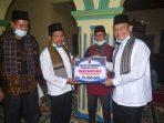 Ketiban 10 Juta Rupiah, Pengurus Masjid Nurul Iman Koto Tinggi Apresiasi Tim Safari Ramadhan Pemkab Agam