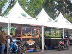 Ramadhan Semarak, Pasar Kuliner Padang Panjang, Tertata Rapi Sejauh Mata Memandang