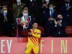 Hasil Final Copa Del Rey 2021, Barcelona Rebut Gelar Juara ke-31, Messi Luar Biasa