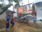 Kebakaran Di Ibuh, Damkar Kota Payakumbuh Kerahkan Seluruh Armada