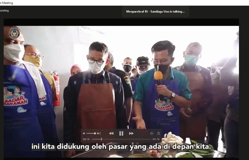 Randang Payakumbuh Jadi Pilot Project