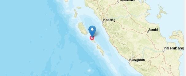Gempa Magnitudo 5,8 Kembali Guncang Mentawai, Tak Berpotensi Tsunami