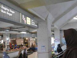 Permudah Pengunjung, Pemko Pasang Sign System di Pasar Pusat Padang Panjang