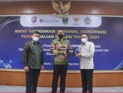 Terbaik di Sumatera, Tanah Datar Raih Penghargaan TPID Award 2021