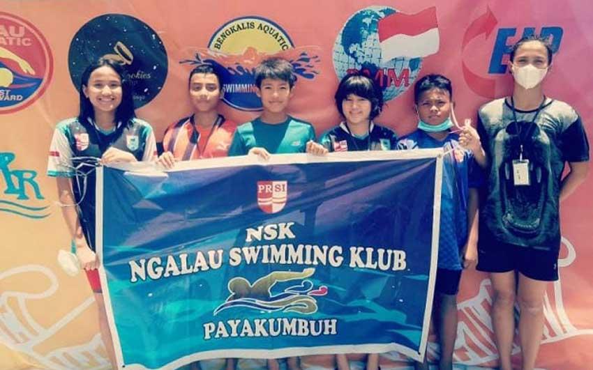 2 Perenang Payakumbuh Jadi The Best Swimmer Di Atlantis Swimming Championship Riau