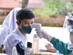 Didominasi Para Pelajar, 518 Orang Ikuti Vaksinasi Covid-19 di Tiga Puskesmas