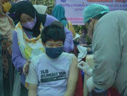 Anak Berkebutuhan Khusus Di Kota Sawahlunto Mulai Divaksin Covid-19