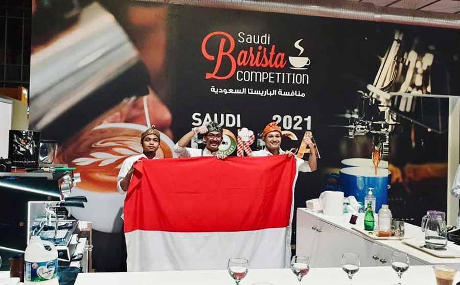 Kompetisi Barista Saudi 2021