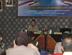 Polres Bakal Gelar Operasi Patuh Singgalang 2021, Mulai 20 September Nanti