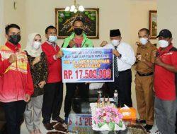 Berprestasi di PON XX Papua, Bupati Andri Warman : Bonus Menanti