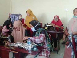 Tingkatkan SDM Di  Nagari, Pemnag Manggopoh Gelar Pelatihan Menjahit