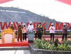Resmikan Bendungan Way Sekampung, Presiden : Produksi dan Kesejahteraan Petani Meningkat