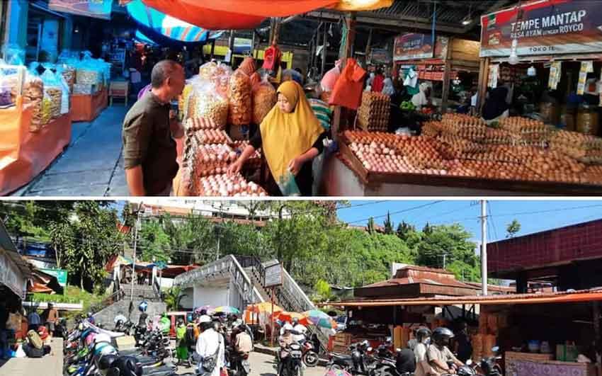 Sekitar 300 Pedagang Terdampak Akibat Kebakaran Pasar Bawah Bukittinggi