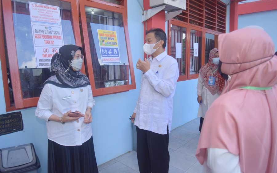 Seleksi P3K Guru, Pemko Sawahlunto Beri Fasilitas Rapid Test Gratis