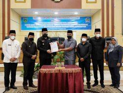 Pemko dan DPRD Padang Panjang Tandatangani Nota Kesepakatan Perubahan KUA-PPAS Tahun 2021