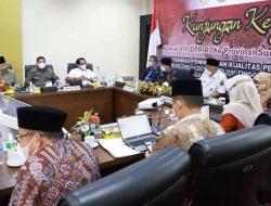 Wako Padang Dampingi Kunker Komisi VIII DPR RI Ke UIN Imam Bonjol Padang