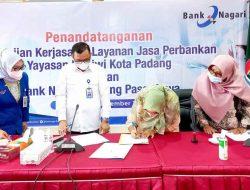 Permudah Bayar SPP, Yayasan Pertiwi Jalin Kerjasama Dengan Bank Nagari Pasar Raya Padang