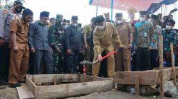 Letakkan Batu Pertama Masjid Baburrahim