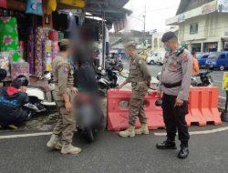 Meski PPKM Level 1, Operasi Yustisi Tetap Berlanjut di Padang Panjang