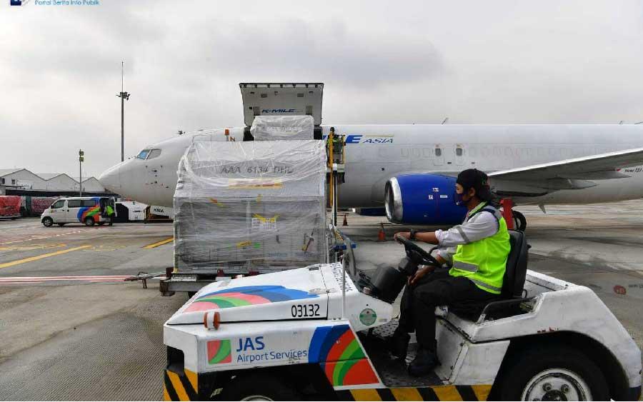 vaksin pfizer datang ke Indonesia